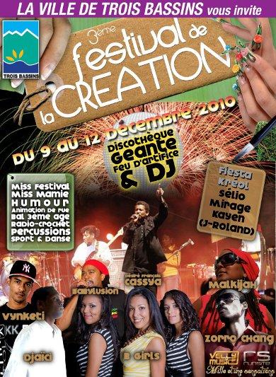 Plateau musical Festival de la Création 2010